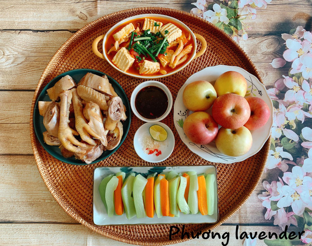 Chị vợ khoe mâm cơm đẹp như chụp từ trong sách ẩm thực, dân mạng nô nức inbox xin bí quyết nấu ăn ngon - Ảnh 3.