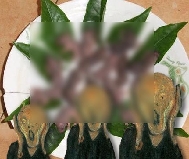 Những món ăn kinh dị đến từ Trung Quốc khiến thực khách bỏ chạy ngay khi nhìn thấy, hình dáng quá ghê rợn - Ảnh 1.