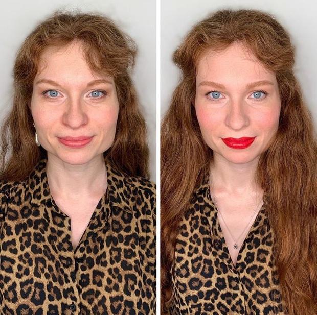 """Loạt ảnh khi các cô gái tự trang điểm và để chuyên gia """"ra tay"""" sẽ khiến bạn phải trầm trồ vì sự biến đổi kỳ diệu của gương mặt - Ảnh 6."""