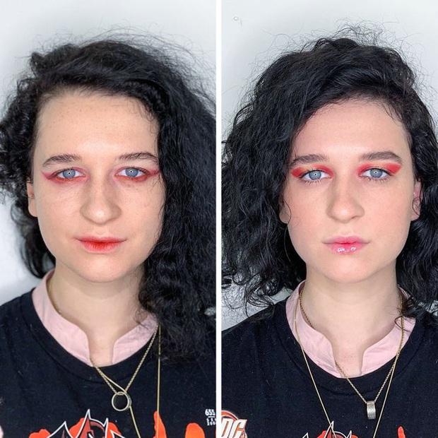 """Loạt ảnh khi các cô gái tự trang điểm và để chuyên gia """"ra tay"""" sẽ khiến bạn phải trầm trồ vì sự biến đổi kỳ diệu của gương mặt - Ảnh 11."""
