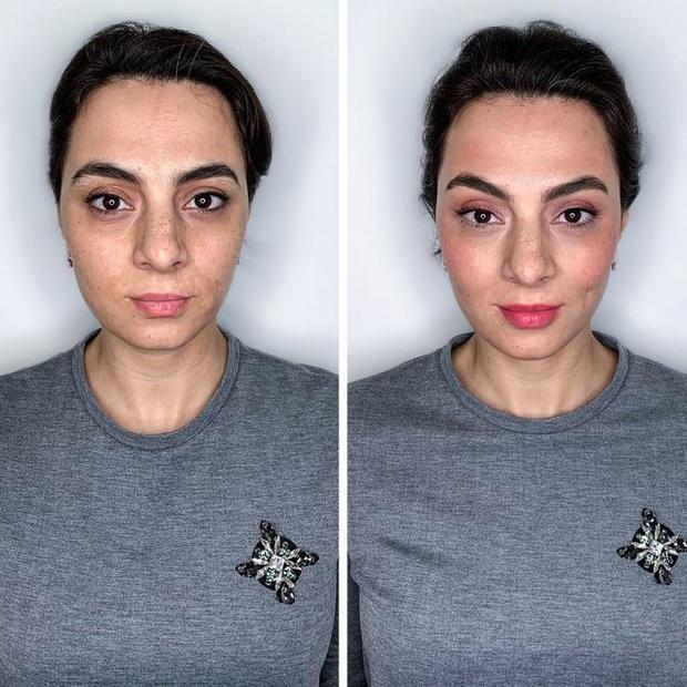 """Loạt ảnh khi các cô gái tự trang điểm và để chuyên gia """"ra tay"""" sẽ khiến bạn phải trầm trồ vì sự biến đổi kỳ diệu của gương mặt - Ảnh 12."""