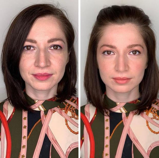"""Loạt ảnh khi các cô gái tự trang điểm và để chuyên gia """"ra tay"""" sẽ khiến bạn phải trầm trồ vì sự biến đổi kỳ diệu của gương mặt - Ảnh 10."""