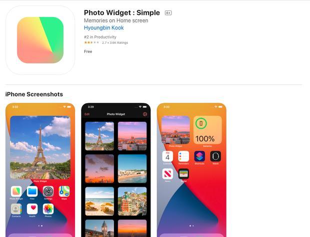 4 ứng dụng miễn phí giúp bạn tạo widget tuyệt đẹp trên iOS 14 - Ảnh 5.