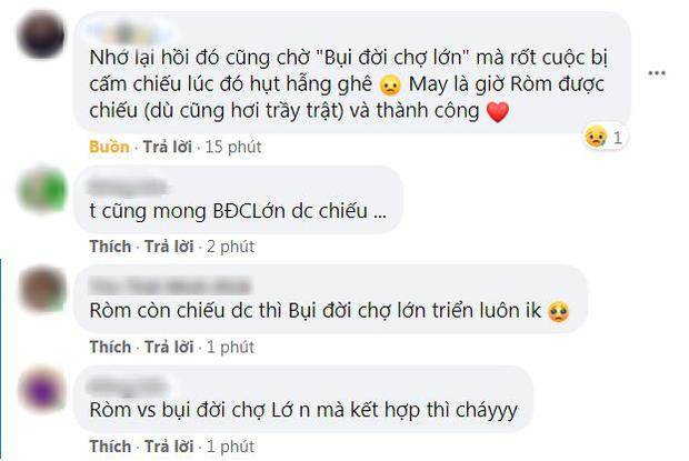 RÒM đại náo màn ảnh Việt, bà con mong Bụi Đời Chợ Lớn ra rạp với phiên bản được kiểm duyệt kĩ càng - Ảnh 5.