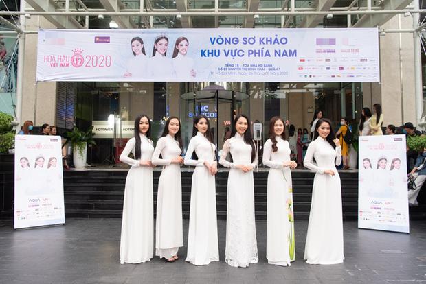 Dàn thí sinh đua nhau khoe sắc tại vòng sơ khảo Hoa Hậu Việt Nam 2020, bản sao Jennie (BLACKPINK) có như kỳ vọng? - Ảnh 17.