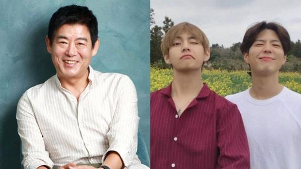 """""""Ông bố quốc dân"""" của Reply 1994 hé lộ tình bạn bất ngờ với nam thần V (BTS) - Park Bo Gum: Tất cả bắt nguồn từ 1 cô bé! - Ảnh 4."""