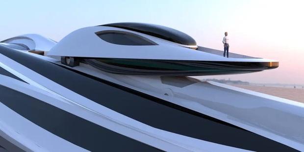 Siêu du thuyền 500 triệu USD này lấy cảm hứng từ anime và có thiết kế trông như một chú thiên nga - Ảnh 3.