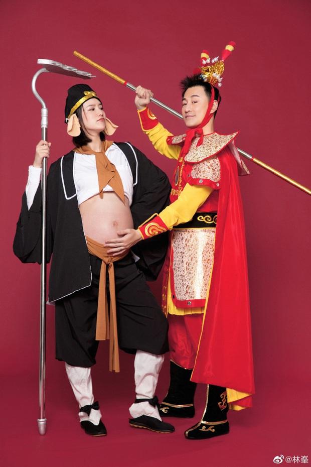 Tài tử Lâm Phong và bà xã cuối cùng đã đón bé cưng đầu lòng, bộ ảnh gia đình cosplay Tôn Ngộ Không siêu cute gây sốt - Ảnh 3.