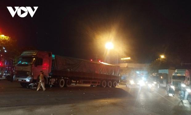 Va chạm với xe container, 2 em nhỏ tử vong ở Hải Phòng - Ảnh 2.