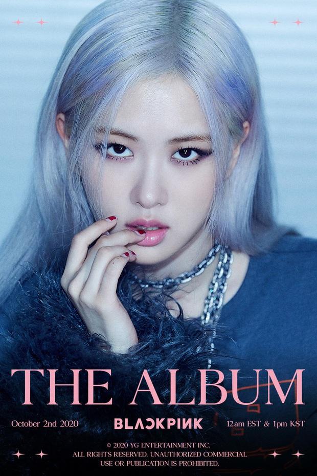 Hết bị dìm trong teaser, Rosé lại bị YG bỏ quên ở loạt ảnh profile của BLACKPINK trên Melon khiến fan la ó - Ảnh 3.