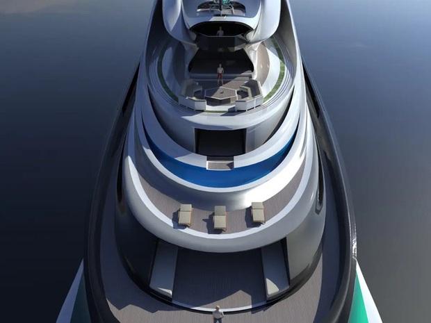 Siêu du thuyền 500 triệu USD này lấy cảm hứng từ anime và có thiết kế trông như một chú thiên nga - Ảnh 21.