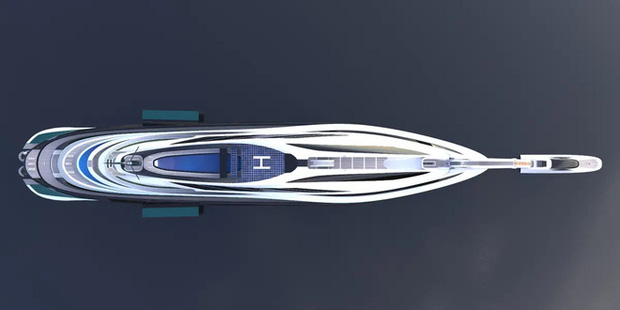 Siêu du thuyền 500 triệu USD này lấy cảm hứng từ anime và có thiết kế trông như một chú thiên nga - Ảnh 23.