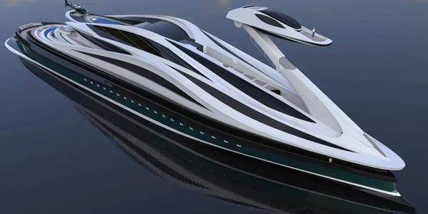 Siêu du thuyền 500 triệu USD này lấy cảm hứng từ anime và có thiết kế trông như một chú thiên nga - Ảnh 27.