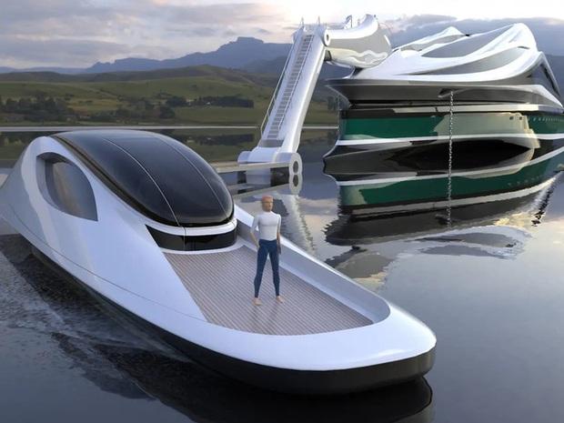 Siêu du thuyền 500 triệu USD này lấy cảm hứng từ anime và có thiết kế trông như một chú thiên nga - Ảnh 9.