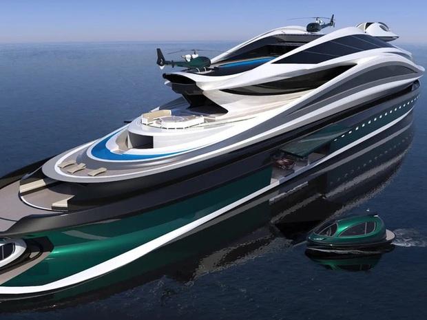 Siêu du thuyền 500 triệu USD này lấy cảm hứng từ anime và có thiết kế trông như một chú thiên nga - Ảnh 13.