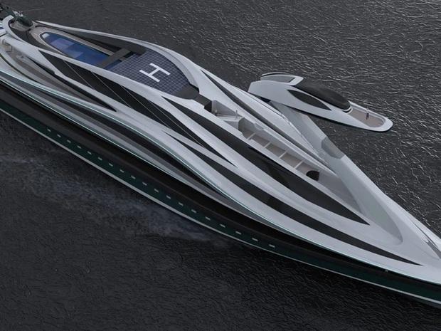 Siêu du thuyền 500 triệu USD này lấy cảm hứng từ anime và có thiết kế trông như một chú thiên nga - Ảnh 19.