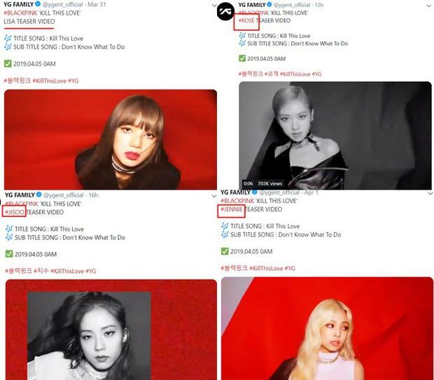 BLACKPINK cứ comeback là YG chọc chửi fan: Jisoo, Lisa và Rosé hết thiếu ảnh lại bị quên tên, còn mình Jennie là chưa lên thớt? - Ảnh 7.