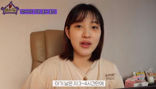 Từng bị mỉa mai, bà mẹ trẻ nhất Kbiz Yulhee khiến dư luận đổi chiều sau tâm sự đẫm nước mắt về quá trình sinh song thai đau đớn - Ảnh 2.