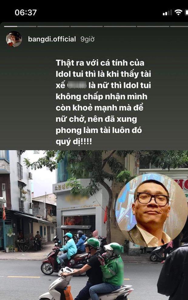 Bắt gặp Wowy đổi chỗ chở nữ tài xế trên đường đi làm, Băng Di hé lộ lý do khiến dân tình dậy sóng vì nể phục - Ảnh 3.
