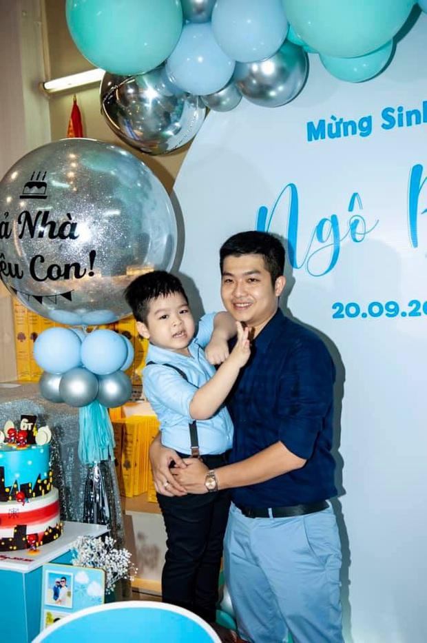Chồng cũ Nhật Kim Anh đăng ảnh sinh nhật con trai, hình ảnh mẹ con nữ ca sĩ bỗng dưng không cánh mà bay - Ảnh 5.