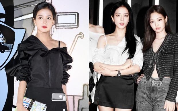 Jisoo mix đồ như 2 năm trước nhưng visual đỉnh hơn, style tưởng cũ nhưng lại là trend hiện giờ - Ảnh 4.