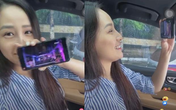 Mai Phương Thuý đúng là u mê: Vừa nghêu ngao hát nhạc Noo Phước Thịnh đã quay ra tít mắt khen vì chàng quá đẹp trai - Ảnh 3.