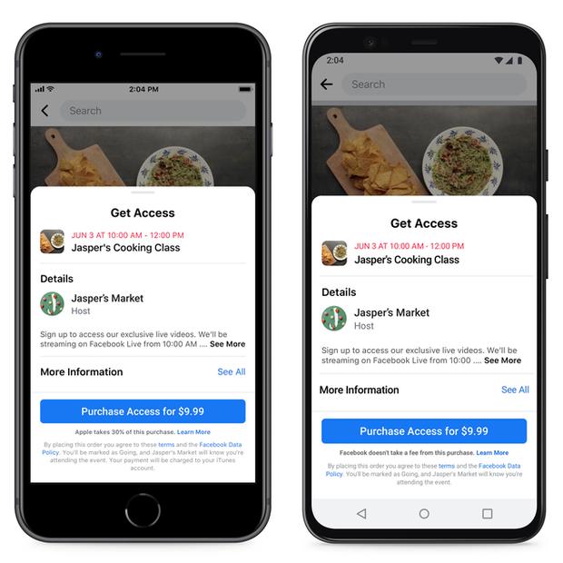 Facebook tạm giành chiến thắng trước Apple, các doanh nghiệp nhỏ được miễn thuế 30% trên iOS - Ảnh 1.