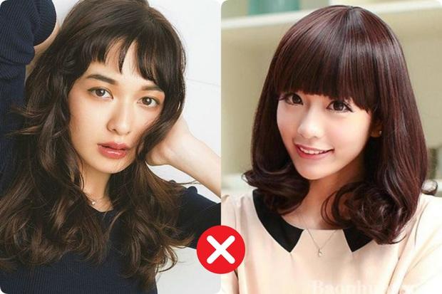 Trán ngắn mấy vẫn có chiêu để tóc mái giấu nhược điểm và 2 kiểu chị em cần tránh xa - Ảnh 1.