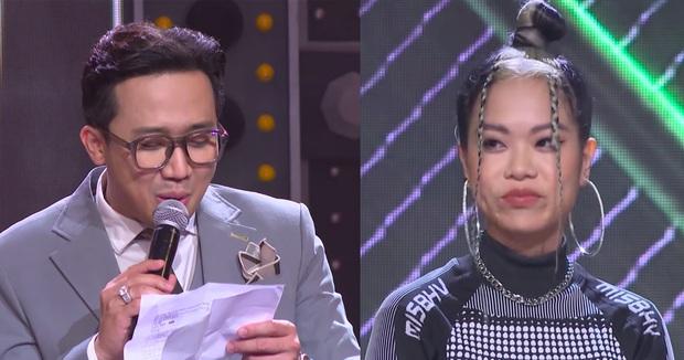 MC Trấn Thành bị chỉ trích thiếu chuyên nghiệp, thiên vị khi chỉ chăm chú vào Tlinh, Tage - Ảnh 2.