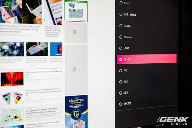 Trải nghiệm nhanh màn hình LG UltraFine Display 4K dành cho dân đồ hoạ: thiết kế tinh tế, hiển thị ấn tượng - Ảnh 27.