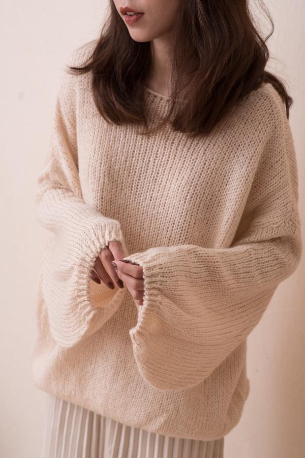 Chỉ là 2 dáng áo len cơ bản nhưng lại có sức mạnh ghê gớm, có đủ thì bạn luôn mặc đẹp - Ảnh 6.