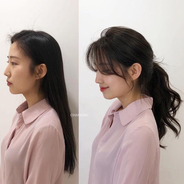 Trán ngắn mấy vẫn có chiêu để tóc mái giấu nhược điểm và 2 kiểu chị em cần tránh xa - Ảnh 8.