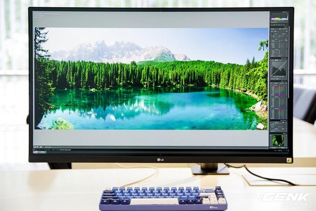 Trải nghiệm nhanh màn hình LG UltraFine Display 4K dành cho dân đồ hoạ: thiết kế tinh tế, hiển thị ấn tượng - Ảnh 9.