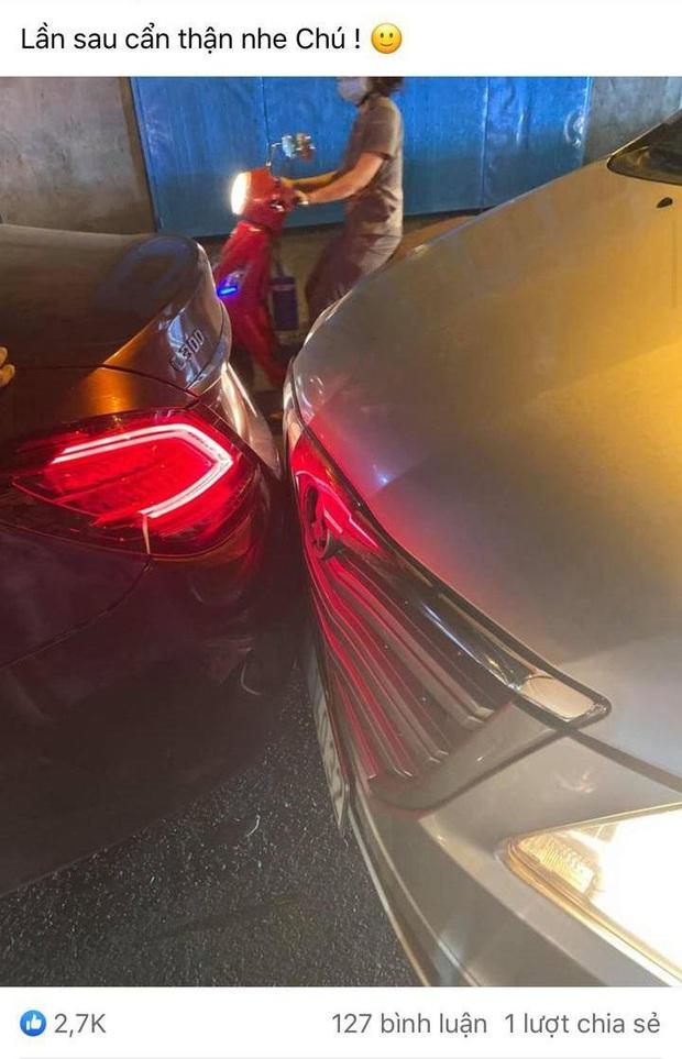 TiTi bị cướp tấn công và lợi dụng sơ hở bẻ kính xế hộp giữa đường, tiếp tục gặp tai nạn xe ngay buổi tối cùng ngày - Ảnh 3.