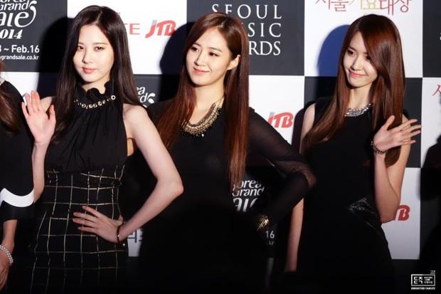 10 tam giác Bermuda nhan sắc đỉnh nhất Kpop: Dàn soái ca BTS được thế giới công nhận, 3 nữ thần SNSD giống đến phát lú - Ảnh 5.