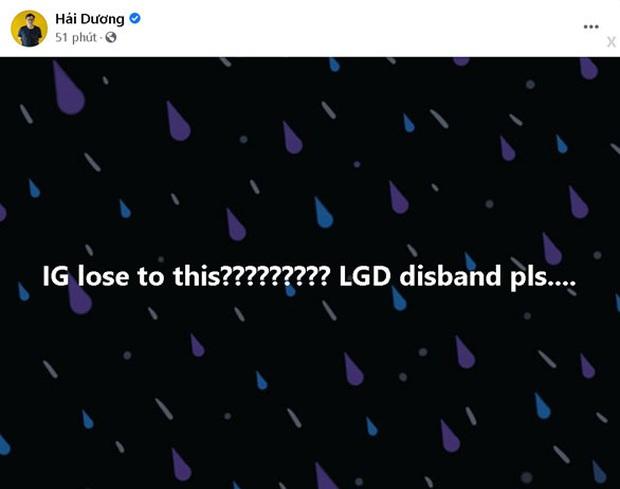 LGD Gaming nhận bão gạch đá từ cộng đồng sau trận thua thứ 2: LGD hãy giải tán đi! - Ảnh 6.