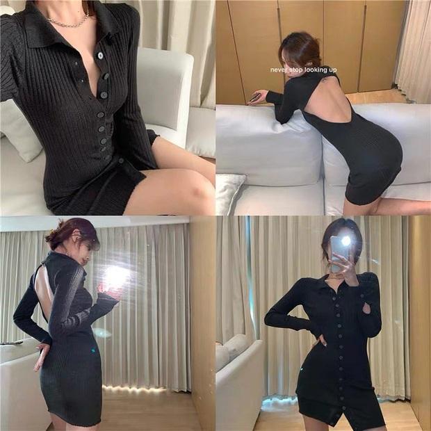Trời lại mát lạnh tê tái, mua váy len tăm là chuẩn bài lắm đây này, vừa đủ ấm vừa sexy, lại cực kỳ chuẩn trend - Ảnh 11.