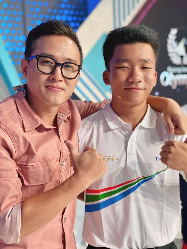 Bộ đôi MC Olympia đình đám Diệp Chi - Ngọc Huy: Nhan sắc trẻ mãi không già, đứng cạnh thí sinh cứ như bạn bè - Ảnh 5.