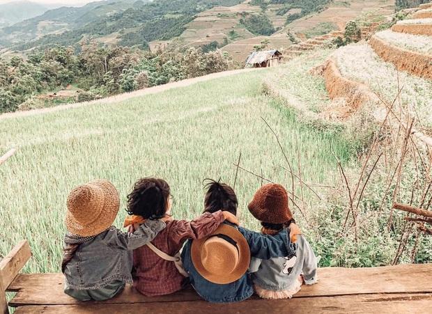 5 bà mẹ chơi thân đưa 5 công chúa nhí đi du lịch mà không cần trợ giúp của các bố, loạt ảnh đáng yêu của các bé khiến CĐM xuýt xoa - Ảnh 4.