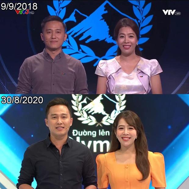 Bộ đôi MC Olympia đình đám Diệp Chi - Ngọc Huy: Nhan sắc trẻ mãi không già, đứng cạnh thí sinh cứ như bạn bè - Ảnh 10.