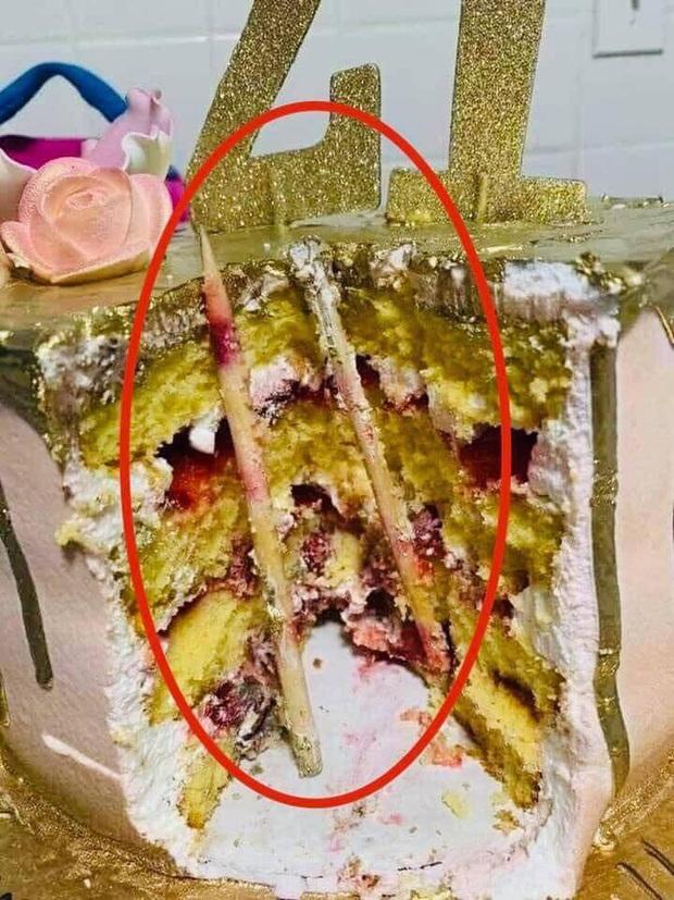 Bức ảnh khiến nhiều người giật mình sợ hãi nghĩ lại trò úp bánh kem vào mặt, mối nguy hiểm quả thật rất khôn lường - Ảnh 2.