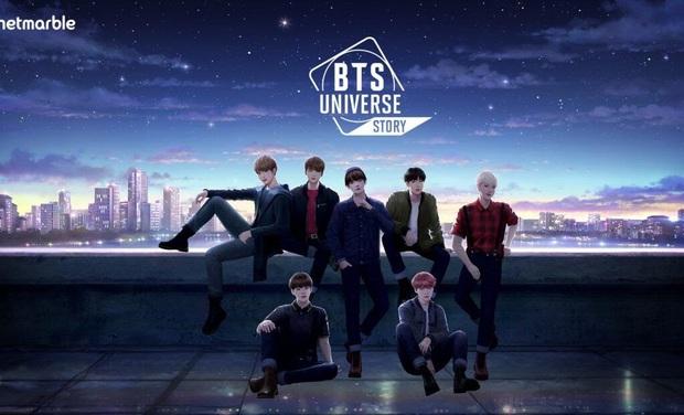 BTS Universe Story - Tựa game siêu hot về nhóm nhạc idol BTS đã chính thức ra mắt - Ảnh 1.