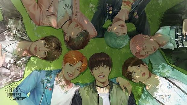 BTS Universe Story - Tựa game siêu hot về nhóm nhạc idol BTS đã chính thức ra mắt - Ảnh 3.