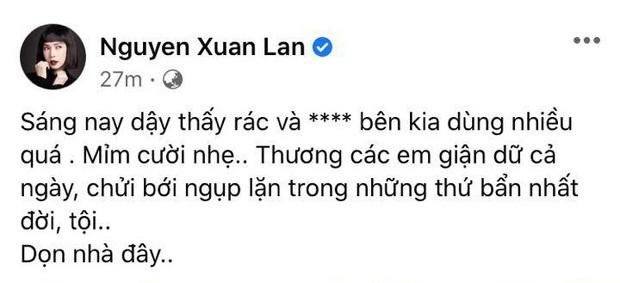 Xuân Lan chia sẻ nội dung chi tiết cuộc điện thoại với Trọng Hưng: Tôi là bạn của người thứ ba trong câu chuyện đó.... - Ảnh 2.