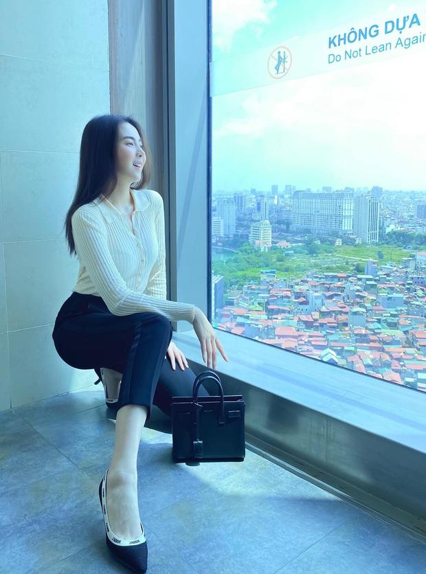 Nhìn MC Mai Ngọc là ra được nhiều ý tưởng diện lại đồ cũ mà vẫn ghi điểm mặc đẹp trong ngày giao mùa - Ảnh 5.
