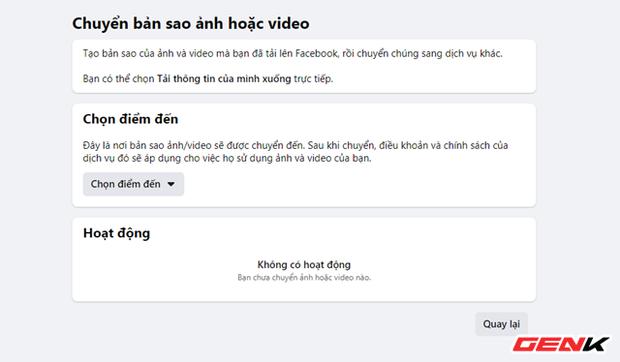 Cách chuyển toàn bộ ảnh từ Facebook sang Google Photos để phòng trường hợp bị khóa tài khoản - Ảnh 6.