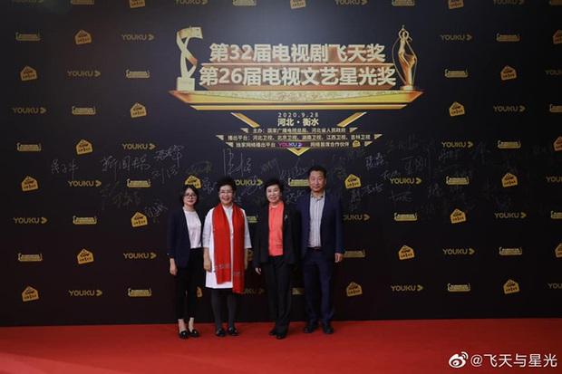 Thảm đỏ lễ trao giải Phi Thiên Tinh Quang 2020: Mỹ nhân 30 Chưa Phải Là Hết chiếm trọn spotlight đánh bật đàn chị Tôn Lệ  - Ảnh 8.
