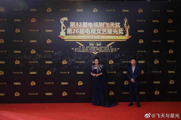 Thảm đỏ lễ trao giải Phi Thiên Tinh Quang 2020: Mỹ nhân 30 Chưa Phải Là Hết chiếm trọn spotlight đánh bật đàn chị Tôn Lệ  - Ảnh 10.