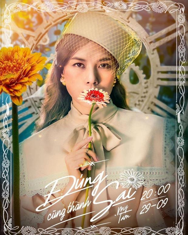 Cực gấp: Ngày mai Mỹ Tâm sẽ tung MV trở lại, nhìn poster rất quý tộc nhưng lại ngửi thấy mùi drama là sao? - Ảnh 1.