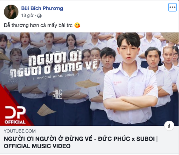 Erik kêu gọi cày MV Đức Phúc lên #1 trending để hưởng xái sổ tiết kiệm 500 triệu, Bích Phương share liền tay còn khen dễ thương - Ảnh 6.